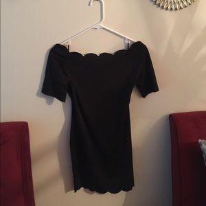 Brand new all black dress